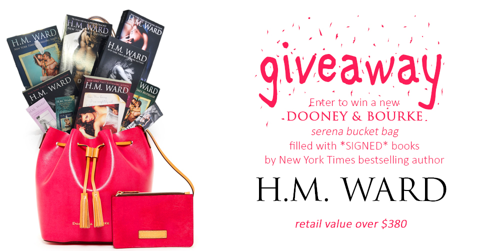 Dooney Giveaway Summer 2016 by H.M. Ward New York Times and USA Today bestselling indie author